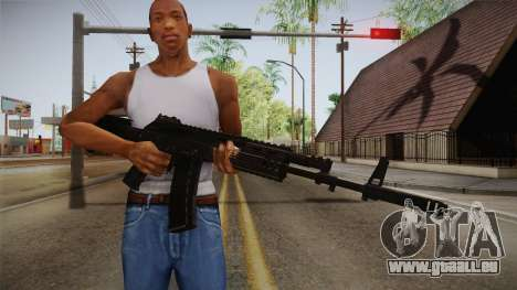 Call of Duty Ghosts - AK-12 pour GTA San Andreas troisième écran