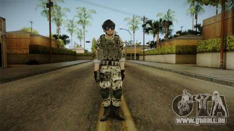 Resident Evil ORC Spec Ops v6 für GTA San Andreas zweiten Screenshot