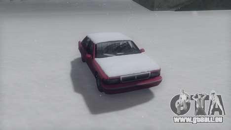 Premier Winter IVF für GTA San Andreas zurück linke Ansicht