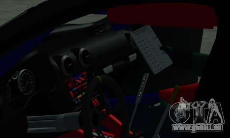 Audi RS3 Sportback Rally WRC pour GTA San Andreas roue