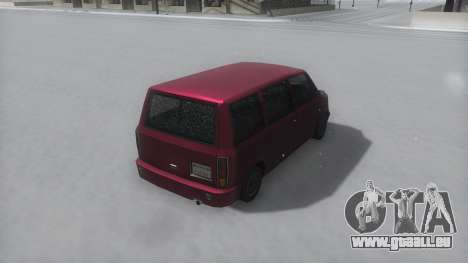 Moonbeam Winter IVF pour GTA San Andreas vue de droite
