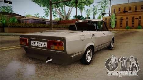 VAZ 2105 Cabrio für GTA San Andreas linke Ansicht