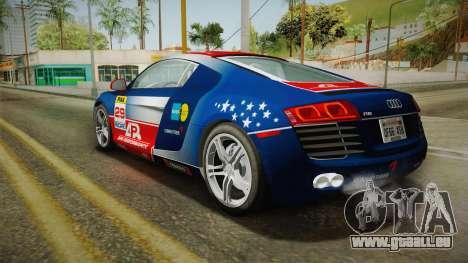 Audi R8 Coupe 4.2 FSI quattro US-Spec v1.0.0 v4 für GTA San Andreas
