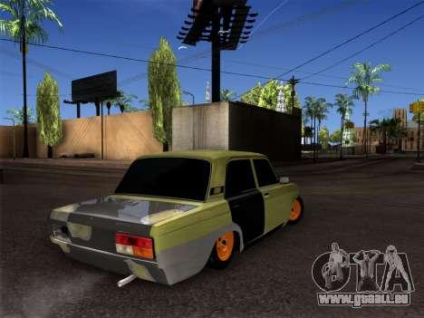 VAZ 2107 hobo für GTA San Andreas rechten Ansicht