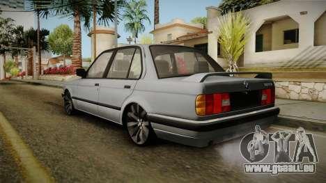BMW M3 E30 Edit v1.0 pour GTA San Andreas laissé vue