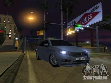 LADA Vesta BPAN für GTA San Andreas