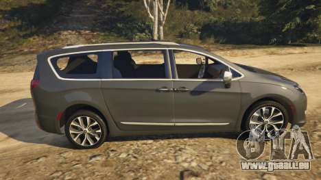 GTA 5 Chrysler Pacifica Limited 2017 linke Seitenansicht