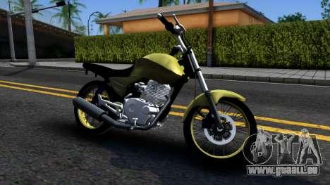 Honda Titan 150 Stunt pour GTA San Andreas laissé vue