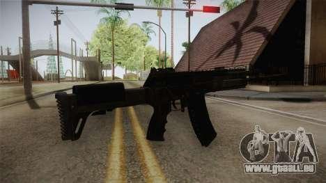 Call of Duty Ghosts - AK-12 pour GTA San Andreas deuxième écran