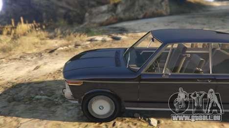 GTA 5 BMW 2002 72 droite vue latérale