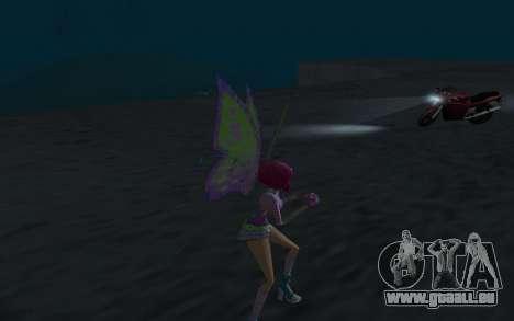 Tecna Believix from Winx Club Rockstars pour GTA San Andreas quatrième écran