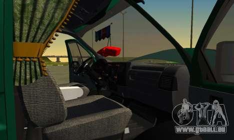 Gazelle Farmer v2 pour GTA San Andreas vue de côté