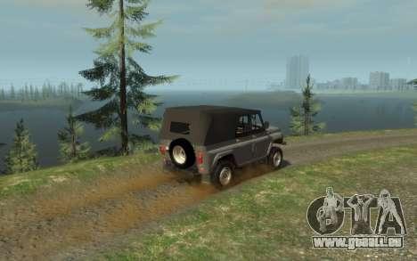 УАЗ 469 (Paul Black prod.) pour GTA 4 est une gauche