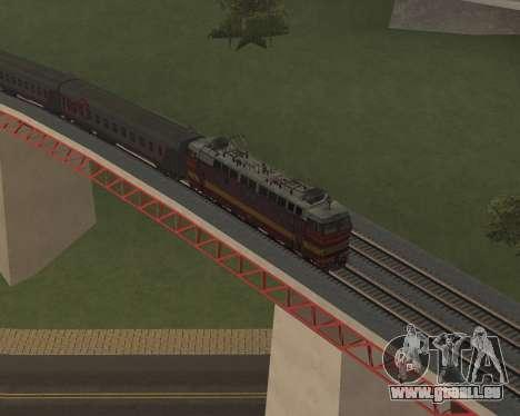Passenger locomotive CHS4t-521 pour GTA San Andreas roue