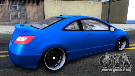 Honda Civic Si für GTA San Andreas zurück linke Ansicht