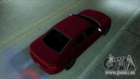 2016 Dodge Charger RT Forza Horizon 2 für GTA San Andreas linke Ansicht