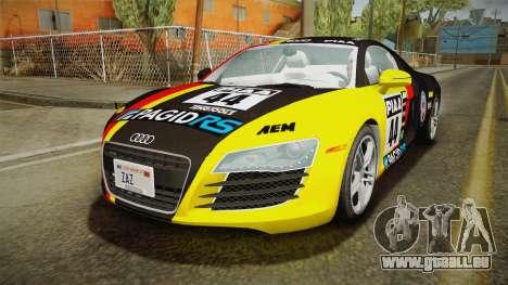 Audi R8 Coupe 4.2 FSI quattro US-Spec v1.0.0 v4 für GTA San Andreas Unteransicht