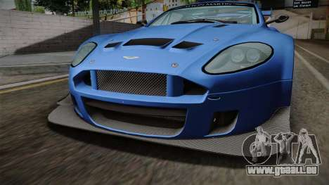 Aston Martin Racing DBRS9 GT3 2006 v1.0.6 pour GTA San Andreas vue intérieure