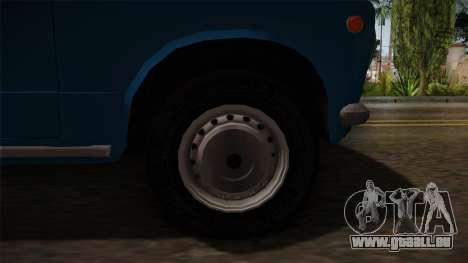 VAZ 2101 für GTA San Andreas Rückansicht