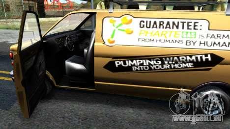 GTA V Declasse Burrito Commercial pour GTA San Andreas vue intérieure