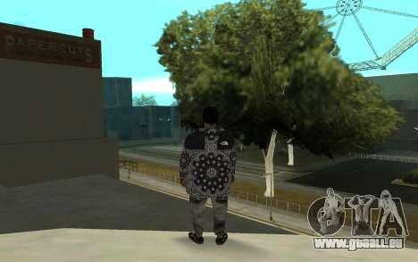 The Ballas 4 pour GTA San Andreas troisième écran