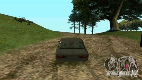 Forza Horizon 3 Speedometer pour GTA San Andreas troisième écran