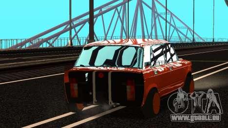 VAZ 2105 patch 3.0 pour GTA San Andreas laissé vue