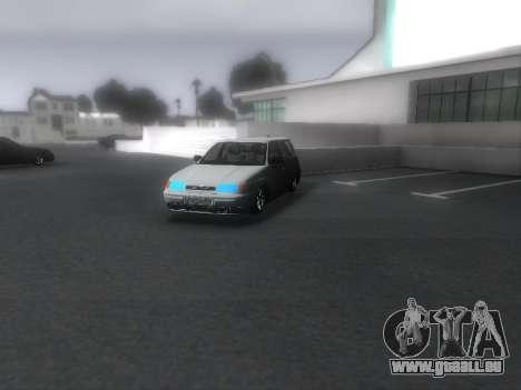 VAZ 2111 Audio pour GTA San Andreas vue de droite