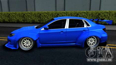 Subaru WRX STi Widebody pour GTA San Andreas laissé vue