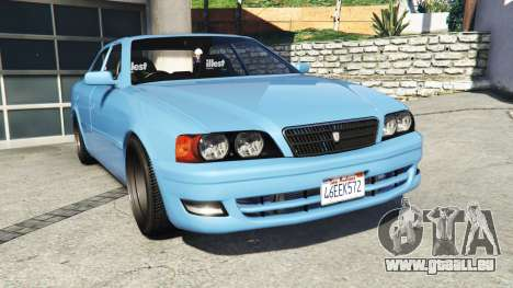 Toyota Chaser (JZX100) v1.1 [add-on] für GTA 5