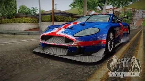 Aston Martin Racing DBRS9 GT3 2006 v1.0.6 pour GTA San Andreas roue