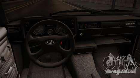 VAZ 2105 Cabrio für GTA San Andreas Innenansicht