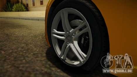 Audi R8 Coupe 4.2 FSI quattro EU-Spec 2008 Dirt pour GTA San Andreas vue arrière