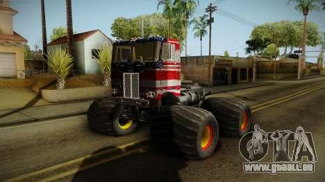 Peterbilt Monster Truck pour GTA San Andreas