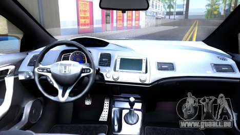 Honda Civic Si für GTA San Andreas Rückansicht