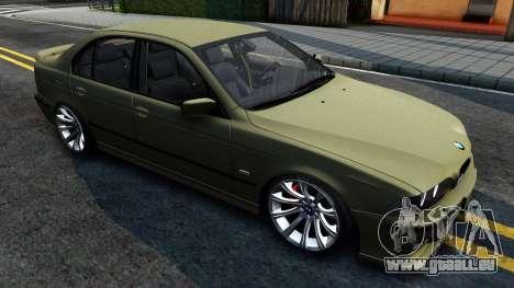 BMW 530D E39 pour GTA San Andreas laissé vue