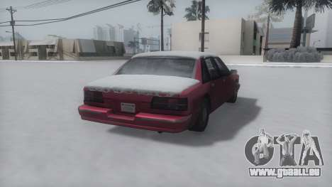 Premier Winter IVF für GTA San Andreas linke Ansicht