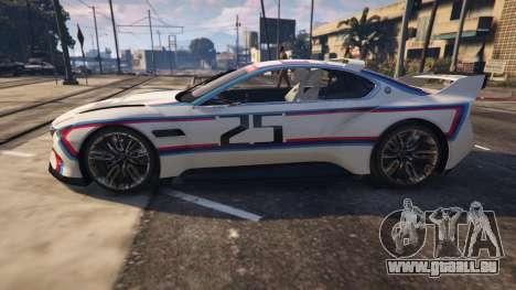 GTA 5 BMW 3.0 CSL Hommage R Concept Rückansicht