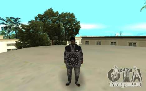 The Ballas 4 für GTA San Andreas