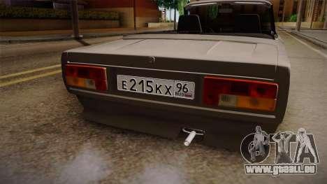 VAZ 2105 Cabrio für GTA San Andreas Seitenansicht