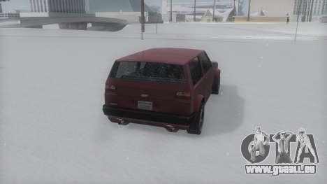 Club Winter IVF für GTA San Andreas linke Ansicht