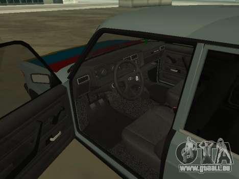 2107 pour GTA San Andreas vue de côté