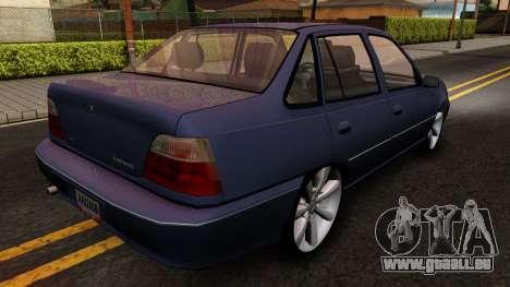 Daewoo Cielo 2001 pour GTA San Andreas vue de droite