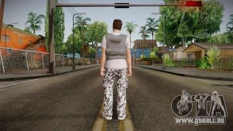 Skin Random Male 5 GTA Online pour GTA San Andreas troisième écran