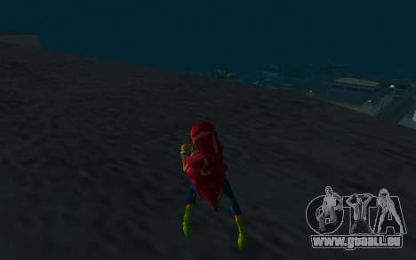 Aisha Rock Outfit from Winx Club Rockstars für GTA San Andreas dritten Screenshot