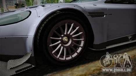 Aston Martin Racing DBR9 2005 v2.0.1 pour GTA San Andreas vue arrière