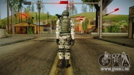 Resident Evil ORC Spec Ops v6 für GTA San Andreas dritten Screenshot