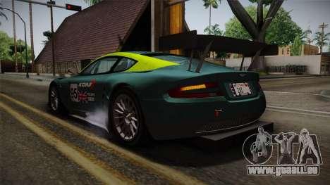 Aston Martin Racing DBR9 2005 v2.0.1 für GTA San Andreas Räder