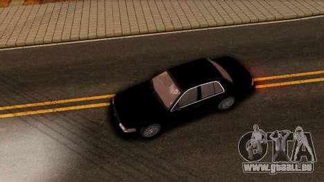 Ford Crown Victoria Detective 2008 pour GTA San Andreas vue intérieure