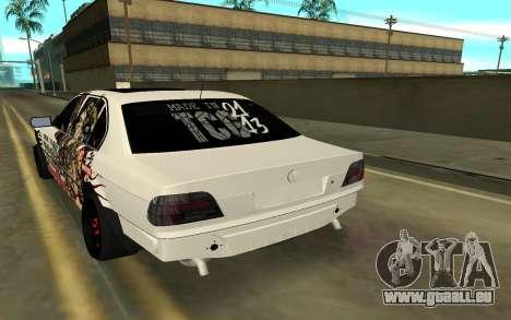 BMW 7 Series E38 pour GTA San Andreas laissé vue